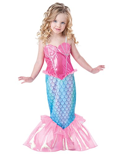 Size 2t Mermaid Costumes - InCharacter Baby Girl's Mermaid Costume Pink/Turquoise,