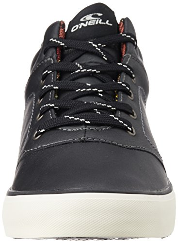 O'Neill Mens Psycho Mid Canvas High Top Sneakers / Trainers Black