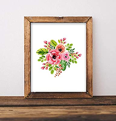 picture about Floral Printable named : Xmas Framed Indicator Floral Printable Artwork