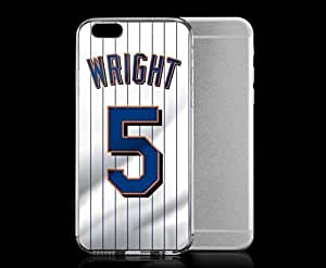 Light weight with strong PC plastic Case Cover For Apple Iphone 6 Plus 5.5 Inch Sports & Collegiate MLB New York Mets New York Mets 5 David Wright