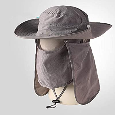 AINIYF Sombrero de sombra para acampar Sombrero de protección ...