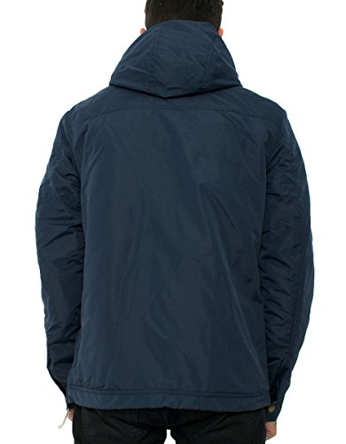 Jack & Jones Tanorak Jacket uomo, piumino, blu