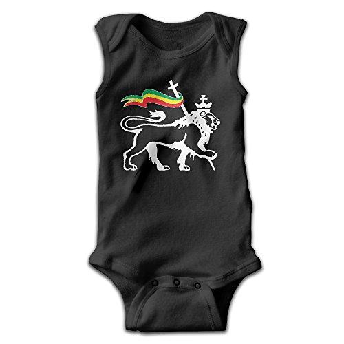 Sleeveless Rasta Lion Of Judah Unisex Infant Cute Onesies Bodysuit Romper Outfits Newborn Revelation Sleeveless Shirt