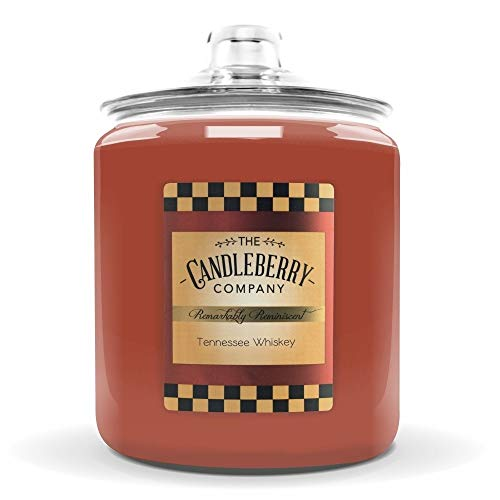 Candleberry Tennessee Whiskey 160 oz Candle - Giant Cookie Jar Candle