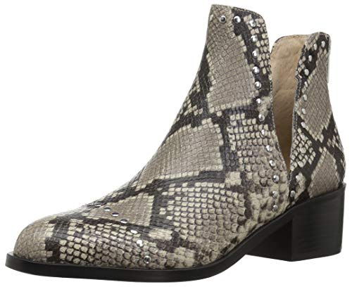 Leather Snake Boots - Steve Madden Women's CONSPIRE Fashion Boot, Natural Snake, 7.5 M US