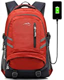 Backpack Bookbag for School College Student Sturdy Travel Business Laptop Compartment with USB Charging Port Luggage...