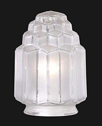 Art Deco Shade - B&P Lamp 3 1/4