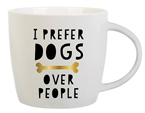 - Dog Lover Gift - Coffee Mug with Message