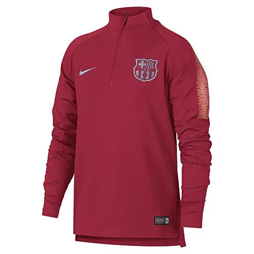 Nike 2018-2019 Barcelona Drill Training Top (Tropical Pink) - Kids (Fc Barcelona Kids Long Sleeve)
