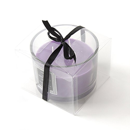 Apollo Aroma Scented Candles Aromatherapy Purple Sunset Lavender - Natural Candle Soy Wax for Stress Relief and Helps Insomnia, Indoor/Outdoor, Birthday, Wedding, Candles (Next Day Gift)