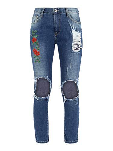 DEFENCE Vaqueros Vaqueros DEFENCE Mujer Mujer para Jeans Vaqueros Jeans DEFENCE para para drWUrcR1n