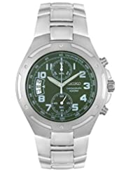 Seiko Chronograph Water Resistant Gents Bracelet Strap Watch SNN139P1