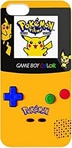 Cartoon Series Pokemon Iphone 5 Case Pikachu PIKACHU GameBoy Cases Cover at abcabcbig store