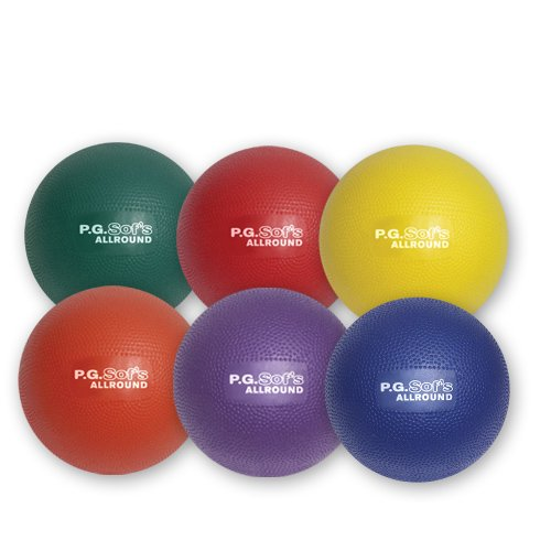 Color My Class P.G. Sof's Balls 7'' by BSN Sports