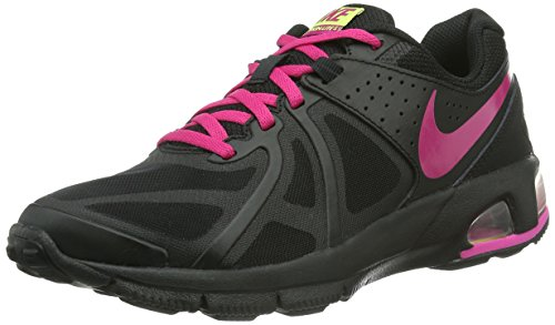 Nike Air Max Run Lite 5 631664 Damen Laufschuhe Schwarz (Black/Vvd Pink-Anthrct-Vlt Ic)