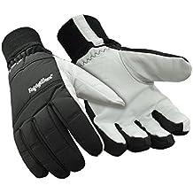 RefrigiWear Insulated Nylon & Goatskin Leather Gloves