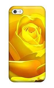 Nafeesa J. Hopkins's Shop Iphone 5/5s Hybrid Tpu Case Cover Silicon Bumper 3d Yellow Rose
