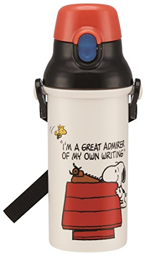 Skater One Touch Bottle 480ml Snoopy 17 PSB5SAN (Bottle Snoopy)