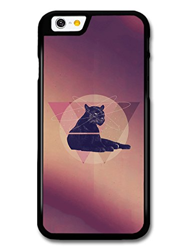 New Cool Hipster Design of Puma Cat and Triangles case for iPhone 6 6S