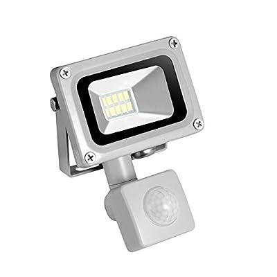 Cold White, 10W, Germany : 10W 220-240V PIR Infrared Motion Sensor LED Flood Light 700LM Motion Security Sensor Floodlight LED Lamp For Outdoor Lighting