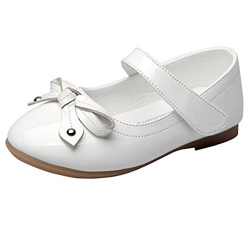Maxu Girls Dress Princess Outdoor Ballet Flat Shoes(Toddler/Little Kid)