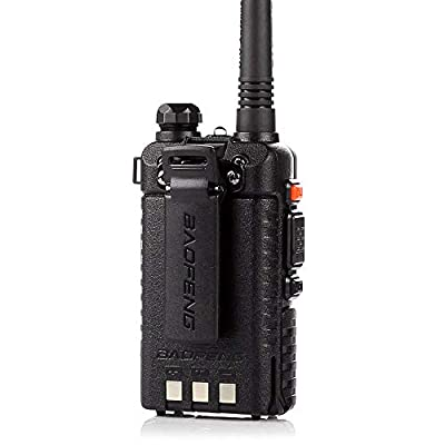 BaoFeng UV-5R 65-108 MHz Dual-Band Ham Radio (Black)