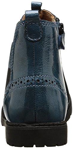 Start Rite 1445 Mädchen Stiefel & Stiefeletten Blau - Bleu (Teal/Patent)