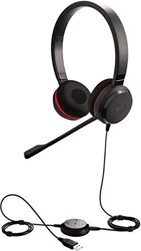 Jabra Evolve 30 II Stero On Ear Headphone with Mic