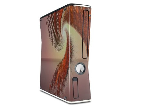 Solar Power Decal Style Skin for XBOX 360 Slim Vertical (OEM Packaging) by uSkins