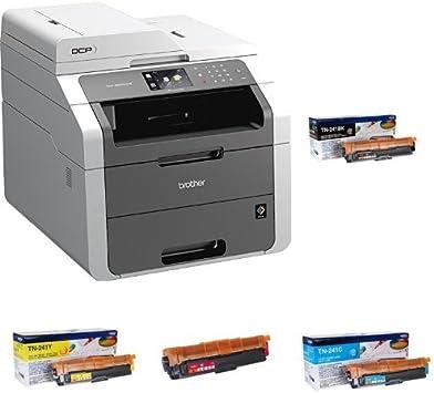 Brother DCP-9020CDW - Impresora multifunción láser color + Pack de ...