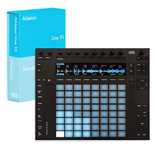 Ableton Push 2 and Standard 10 Bundle (Digitally Downloaded Software)
