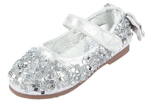 Glitzer Festliche Schuhe Kinderschuh Ballerina Mädchen Eozy Kinder Yybf6g7