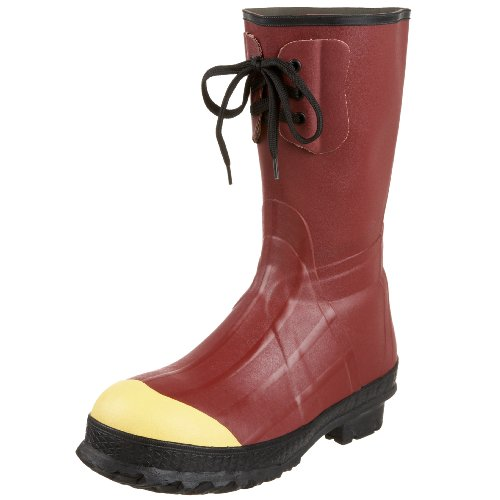 "LaCrosse Men's Insulated Pac 12"" Steel Toe Work Boot,Rust,9 M US ()"