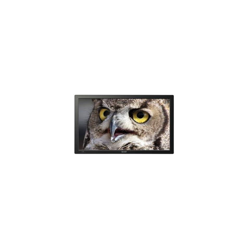Sharp PN T321 32 LED LCD Monitor w/ Speakers   169 6.50 ms 1366 x 768 16.7 Million Colors 420 Nit 25001 DVI HDMI VGA USB