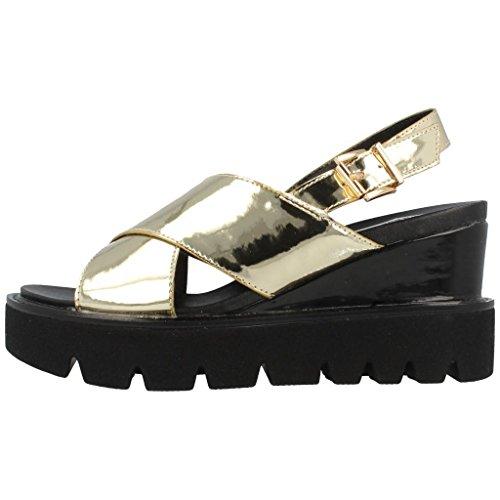 Sandalias y chanclas para mujer, color gold , marca FRANCESCO MILANO, modelo Sandalias Y Chanclas Para Mujer FRANCESCO MILANO L259L Gold Gold