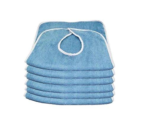 ProCare Terry Adult Bibs, 3Pk (Adult Towel Bibs)