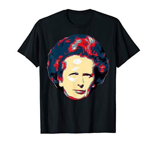 Margaret Thatcher Pop Art T-Shirt