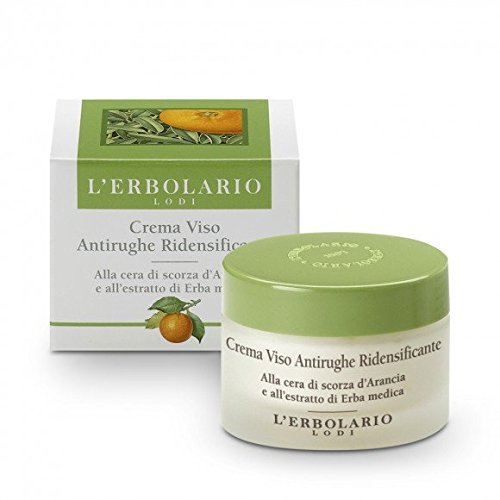 Re Densifying Care - L'Erbolario Re-Densifying Anti Wrinkle Cream with Orange Peel Wax and Extract of Alfalfa 50 Ml / 1,7 Fl. Oz.