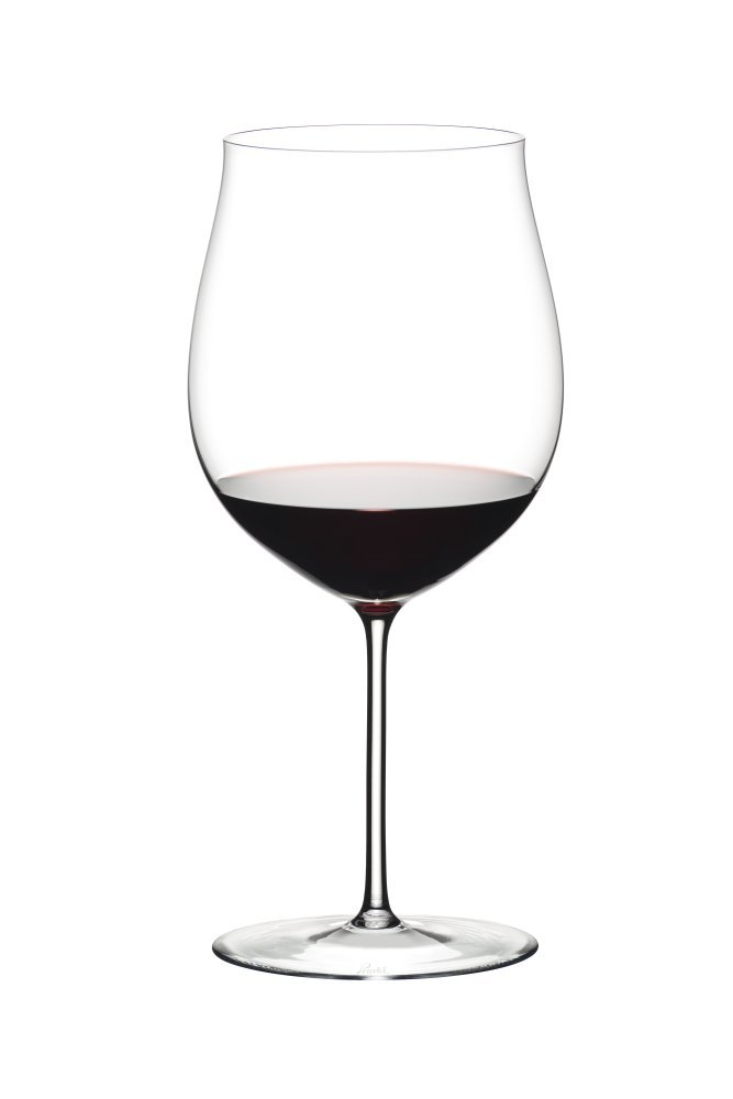 Riedel 2440/16 Sommeliers Burgundy Grand Gru Wine Glasses, Clear by Riedel
