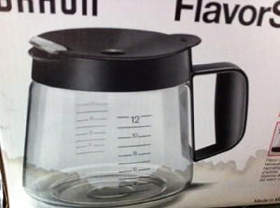 Braun Flavor Select with Flavor Seal Carafe Coffee Decanter KFK 12 C