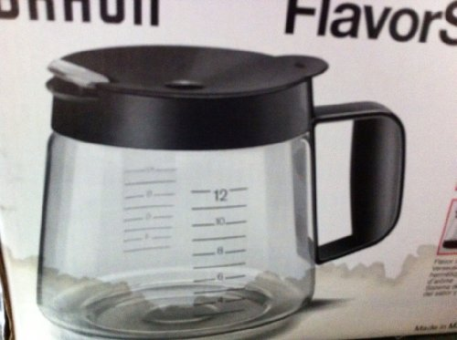 Braun Flavor Select with Flavor Seal Carafe Coffee Decanter KFK 12 C