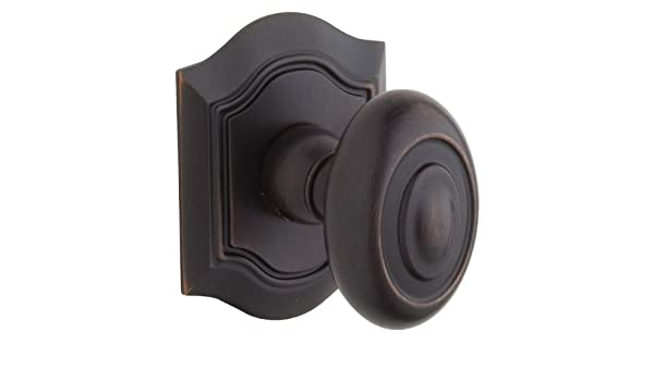 Baldwin 5077102IMR Oil Rubbed Bronze Individual Bethpage Estate Door Knob Without Rosette