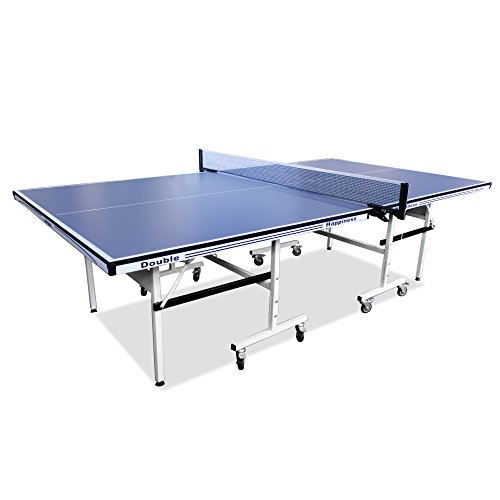Double Happiness Balls (Double Happiness 5/8 Inch Table Tennis Table Ping Pong Table w/ Free Accessory Pack Rackets Balls Net and Waterproof Cover)