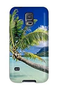 KristineWilliamsshop Best 6330935K23204181 Premium Tpu Bora Bora Cover Skin For Galaxy S5