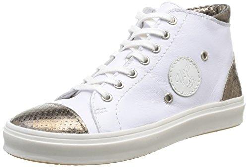 Yep Alezae, Mädchen Sneakers Weiß (serpent Blanc)