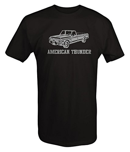 Stealth - American Thunder Classic Chevy C-Series Truck T shirt - 2XL (Stealth Trucks)