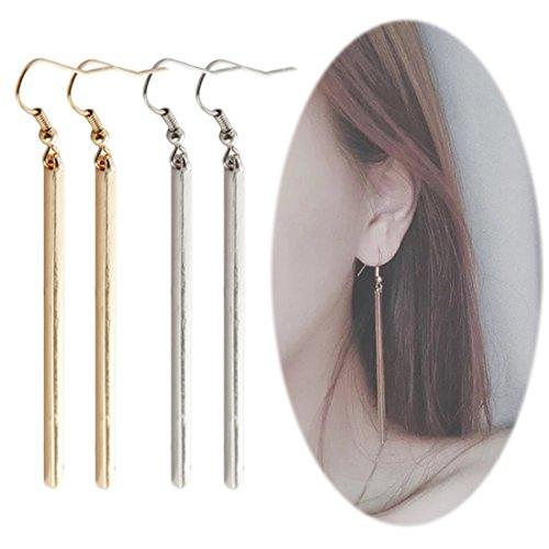 Bar Drop Dangle Earrings - 8
