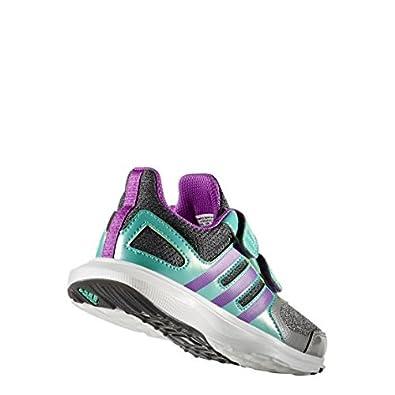 Adidas unisex Kids' hyperfast Cf K zapatillas gris tamaño: 3