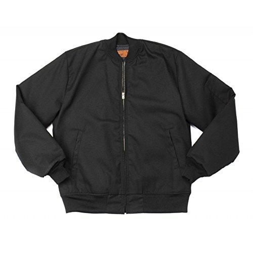 65//35 Polyester//Cotton Team Jacket-Large-Black Pinnacle Textile JL16 7.5 OZ Twill