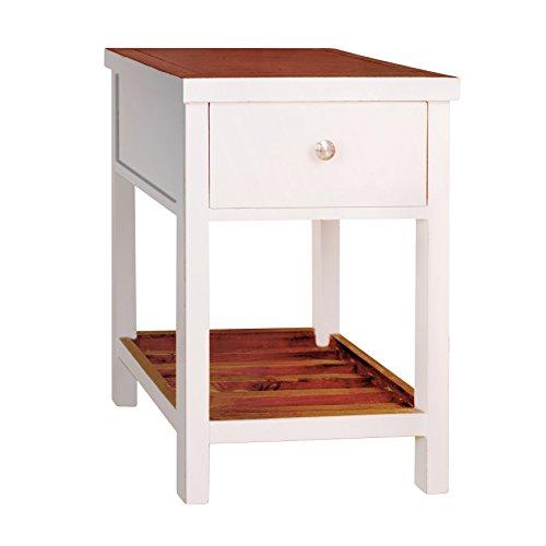 814110021677 - Tonality Designs Pari Classic Side Table, Aqua carousel main 1